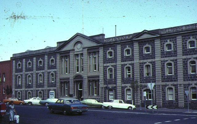 dennys lascelles wool stores geelong front view dennys lascelles feb1970