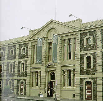 dennys lascelles wool stores geelong wool museum building front view publication