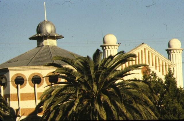 methodist church cnr deakin avenue & tenth street mildura view of roof line jun1980