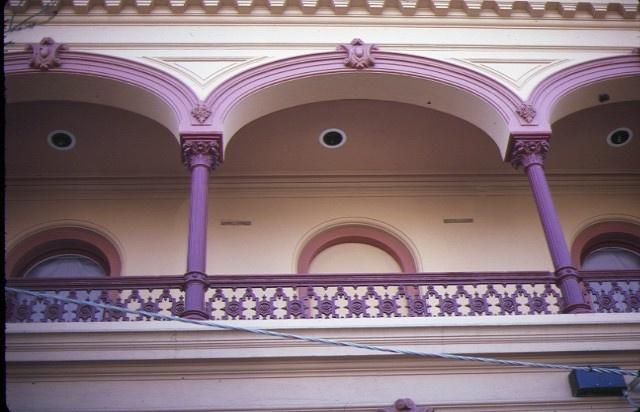 terrace 203 victoria parade fitzroy detail of balcony jul1984