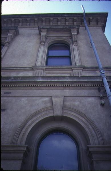 clunes post office detail exterior windows nov1984