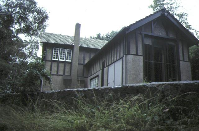 napier waller house studio wing dec1985