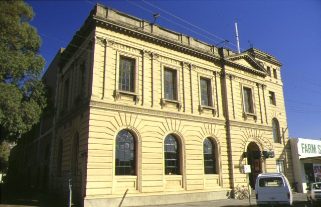 1 former geelong wool exchange corio street geelong front view