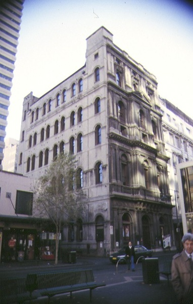 1 money order post office & savings bank little bourke street melb side view 1997