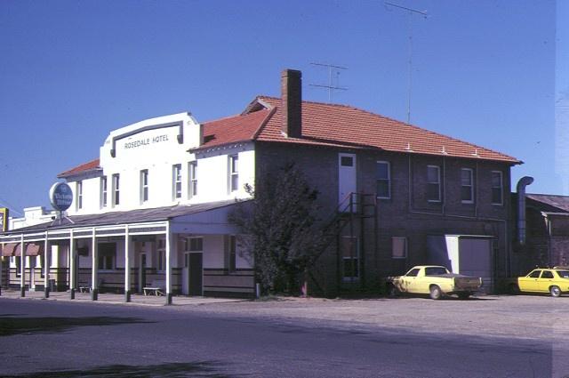 1 rosedale hotel lyons street rosedale rear view of hotel feb1982