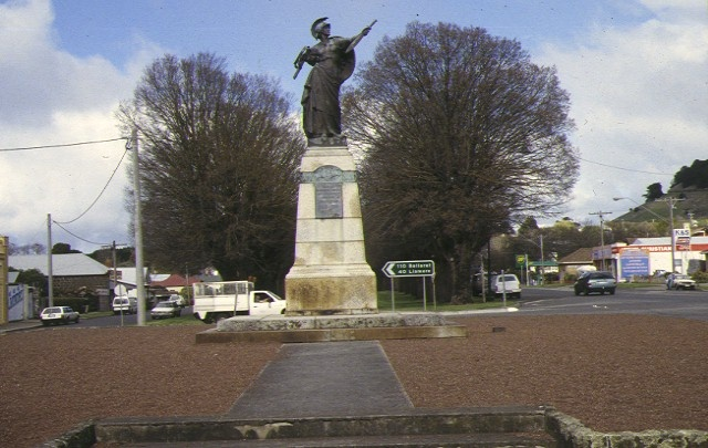 finlay ave of elms precinct camperdown soldier's memorial