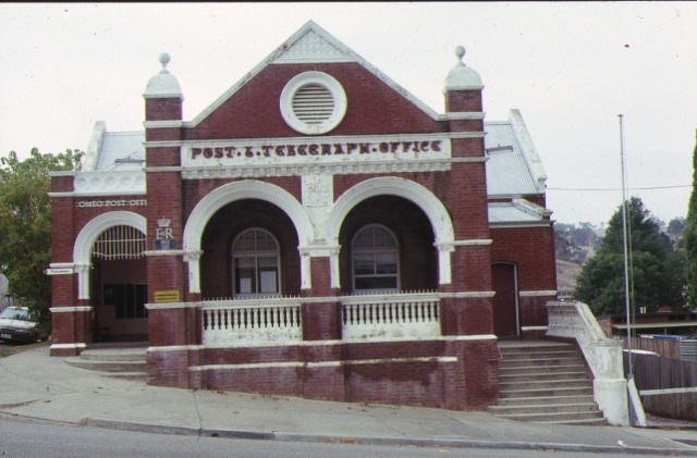 former omeo post office front view