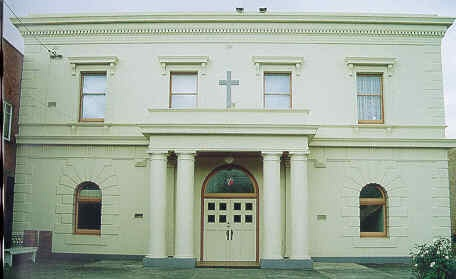 st johns lutheran church yarra street geelong front elevation publication