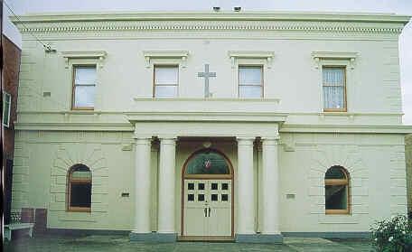 st johns lutheran church yarra street geelong front elevation publication