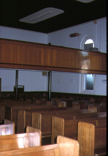 st johns lutheran church yarra street geelong interior seats mar1984