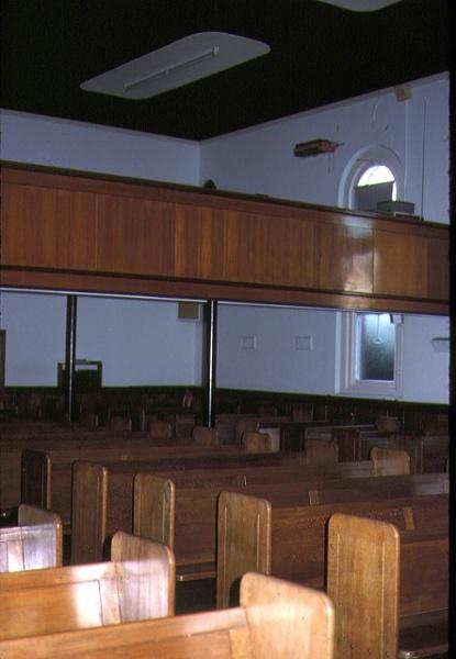 st johns lutheran church yarra street geelong interior seats mar1984