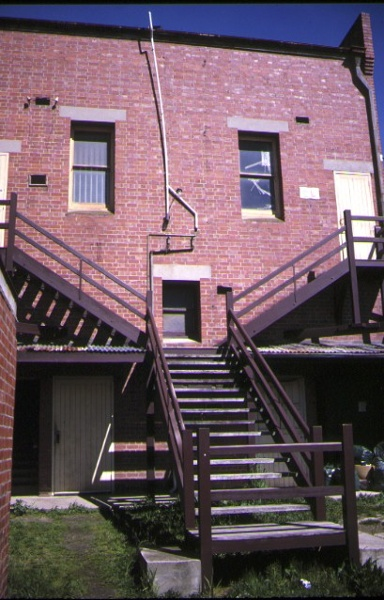 ballarat trades hall rear view