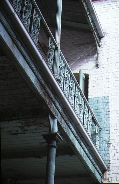 trades hall lygon street carlton balcony