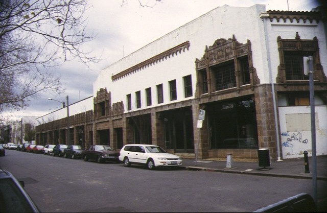 1 former kellow falkiner showrooms st kilda road melbourne front view