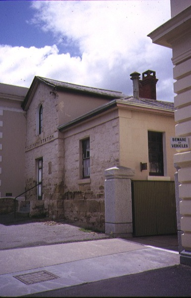 former telegraph office and faulder watson hall barker street castlemaine side view telegraph office