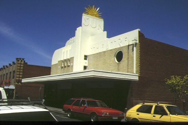 1 sun theatre ballarat street yarraville front view