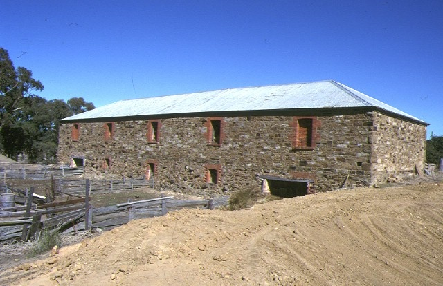 former grieffenhagens winery & homestead emu creek winery front view