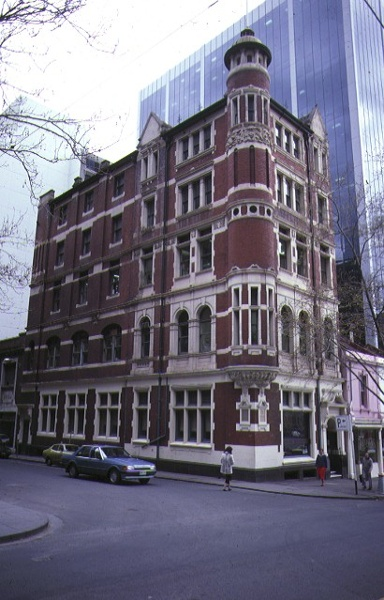 1 former gollin & company building bourke street melbourne frnt view