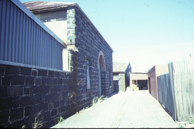 former melvilles grainstore colebrook street brunswick rear of buildings 3 & 4