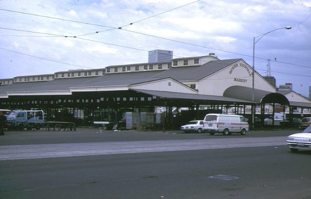 1 queen victoria market victoria street melbourne front view market sheds