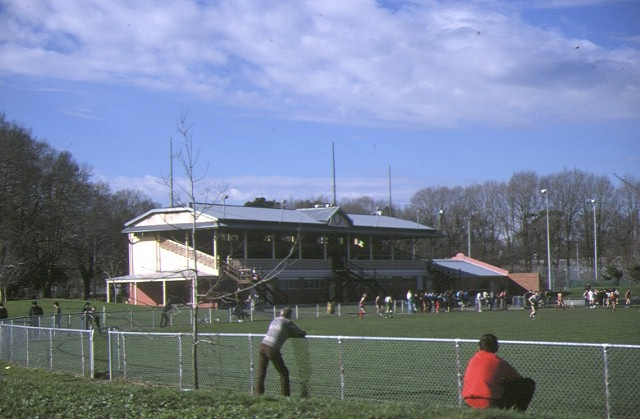 fitzroy cricket ground grandstand brunswick street fitzroy site view