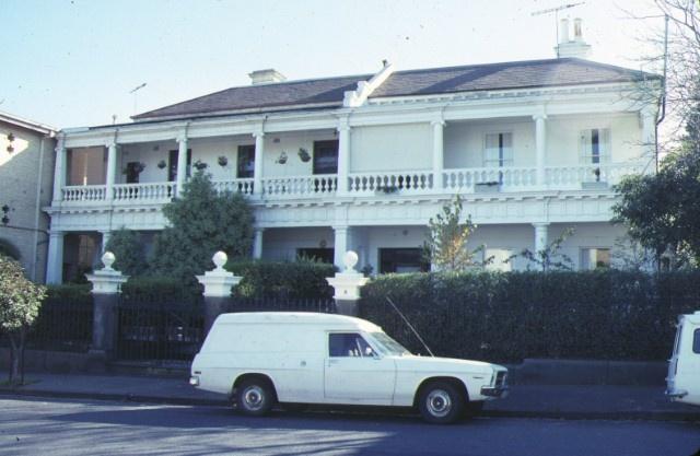 1 residence 6 and 8 burnett street st kilda front view jun1988