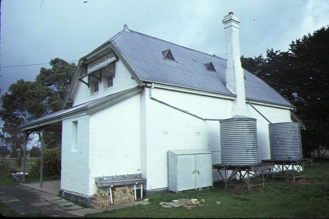 former primary school no668 cardigan rear view aug1984