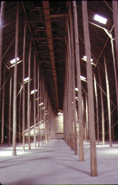 murtoa grain store wimmera hwy murtoa interior from ground view