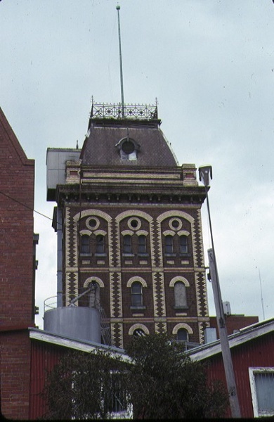 1 former yorkshire brewery wellington street collingwood detail of tower