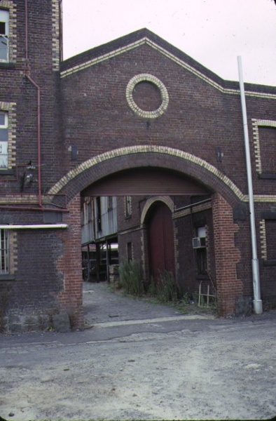 former yorkshire brewery wellington street collingwood entrance to stables