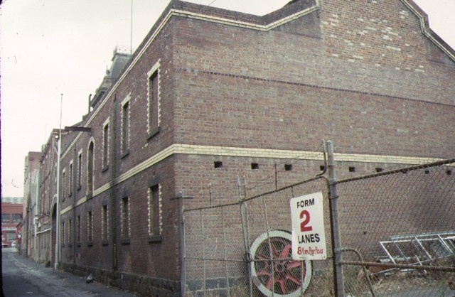 former yorkshire brewery wellington street collingwood rear view