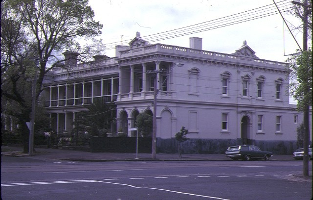 1 rochester terrace st vincent place albert park montague street elevation