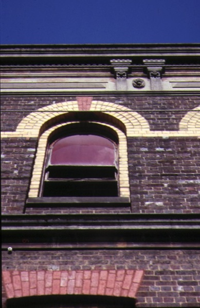 former denton hat mills nicholson street abbotsford detail of window