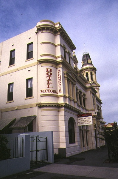 hotel victoria beaconsfield parade albert park side elevation
