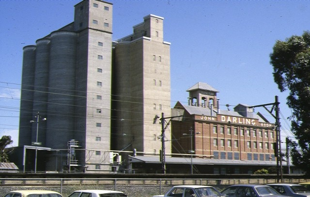 1 john darling & son flour mill albion view from railway line