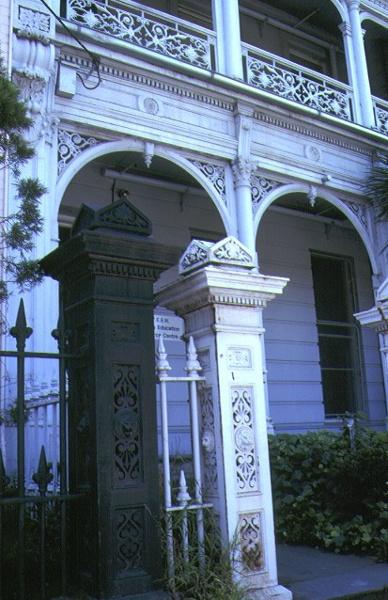 terrace 408 albert street east melbourne front entrance nov1990