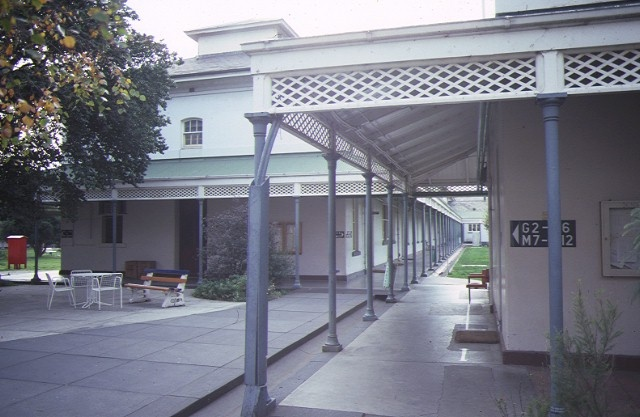 former willsmere hospital kew hospital wing jun1984
