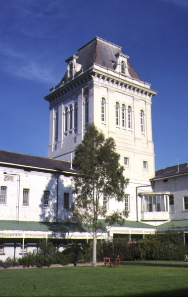 former willsmere hospital kew view of tower jun1988