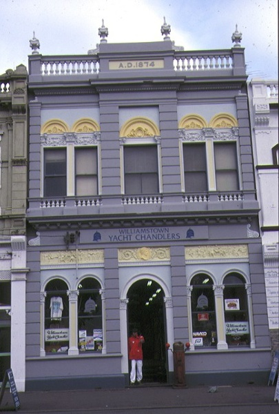 1 former advertiser building nelson place williamstown front elevation