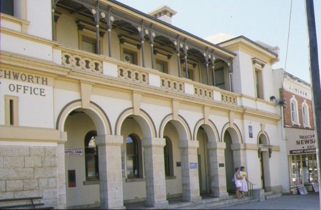 beechworth post office ford street beechworth colonaded verandah