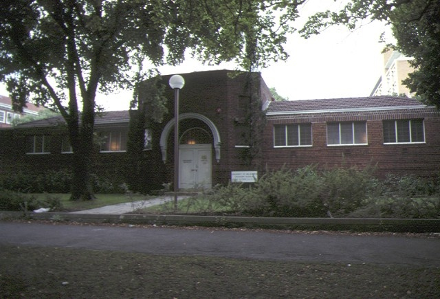 1 grainger museum university of melbourne parkville front view mar1979