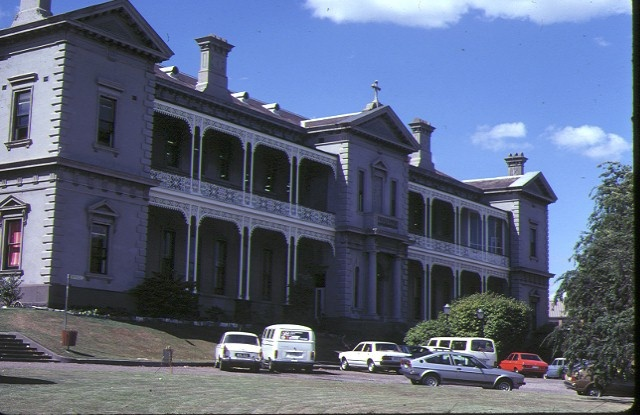 1 xavier college kew south wing front elevation