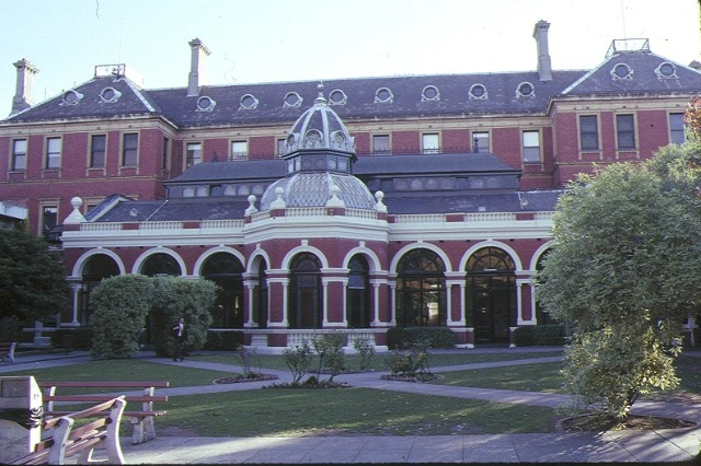 xavier college kew great hall front elevation may1990
