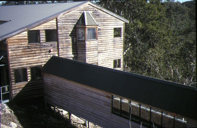 mount buffalo chalet outbuilding