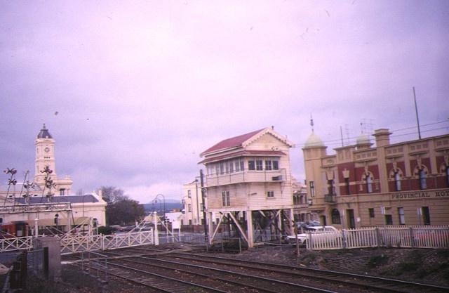 ballarat railway complex site view