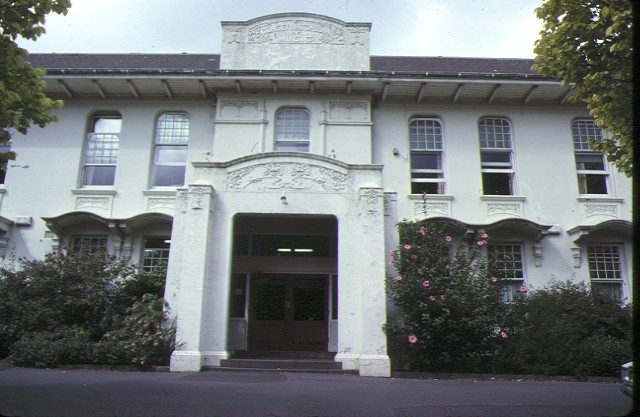 1 conservatorium of music & melba hall university of melbourne parkville front view mar1979