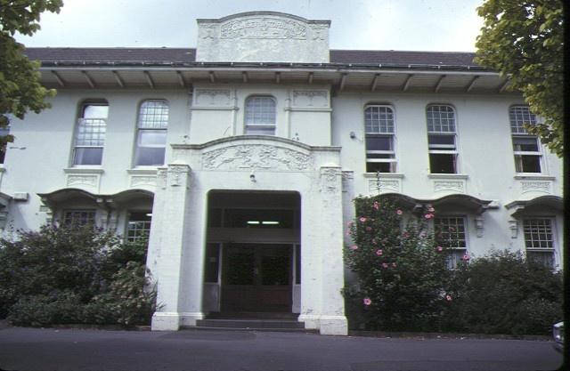 1 conservatorium of music & melba hall university of melbourne parkville front view mar1979