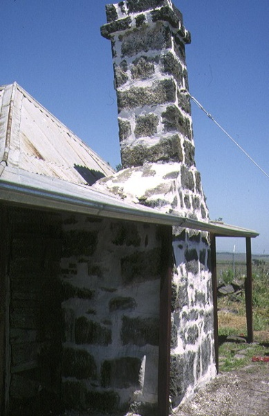 john kelly's former house whiteside street beveridge restored chimney nov1993