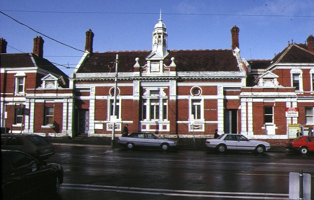 1 police station & former court house kew front view
