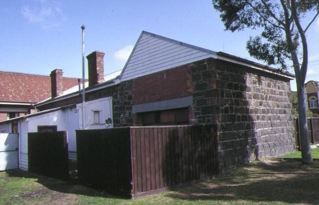 holy trinity anglican church complex sydney road coburg school rear view aug1992